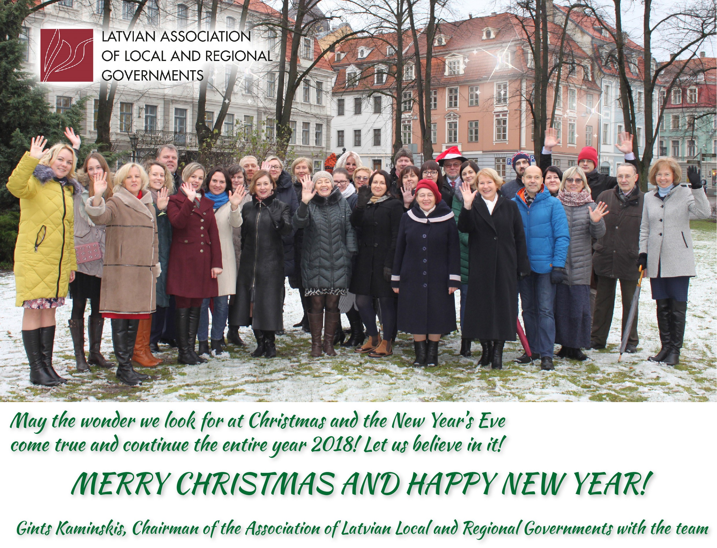We wish you beautiful Christmas and all the best in New Year!