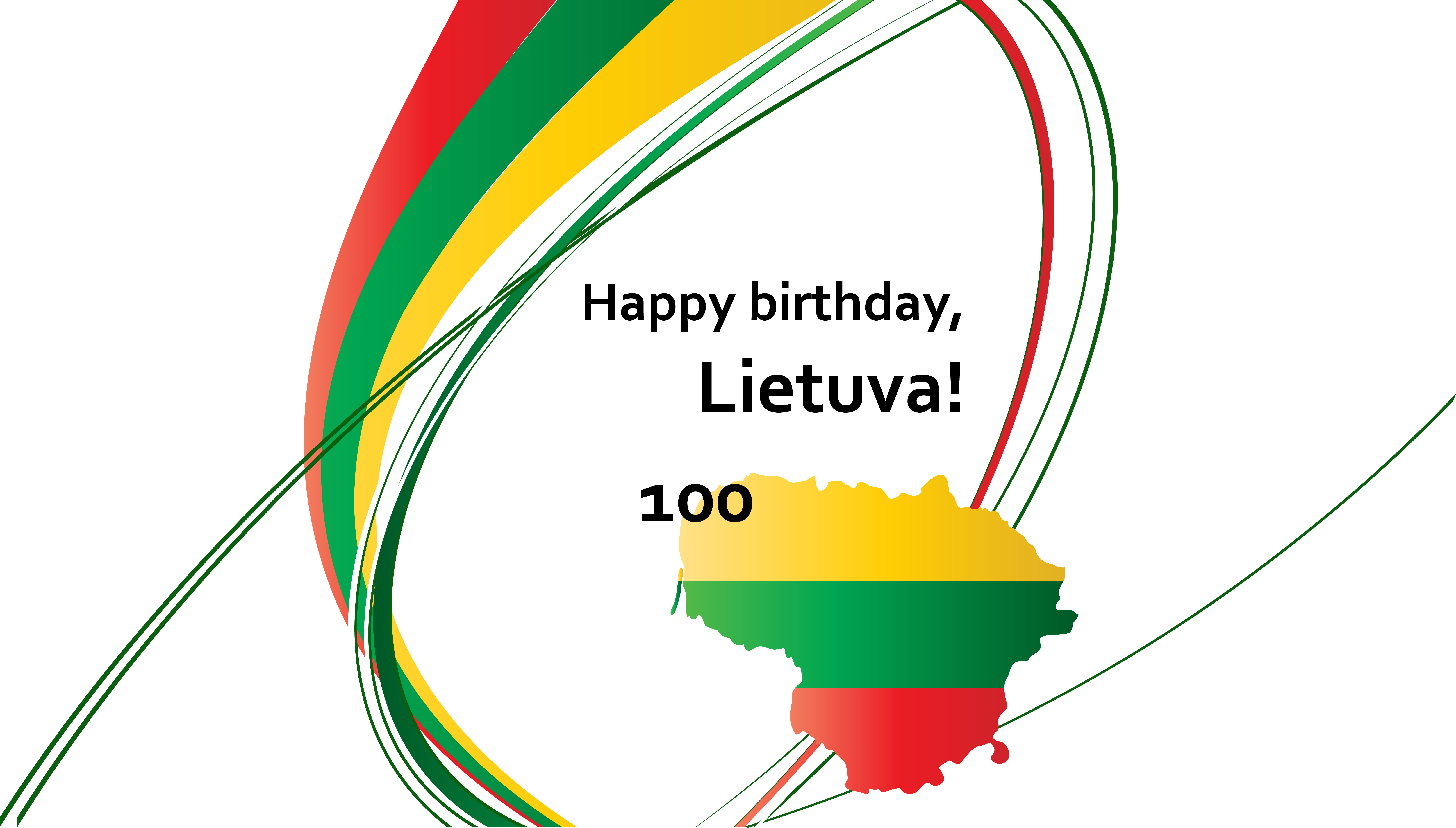 Happy Centenary, dear Lithuanians!