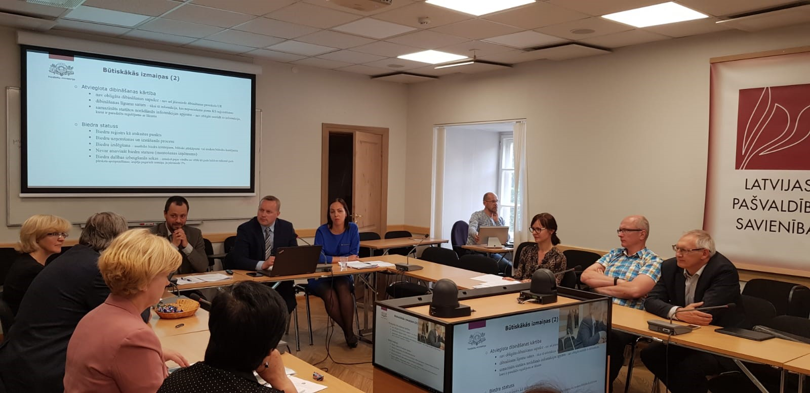Joint meeting of the Board of the Union of Municipalities and LALRG Entrepreneurship network
