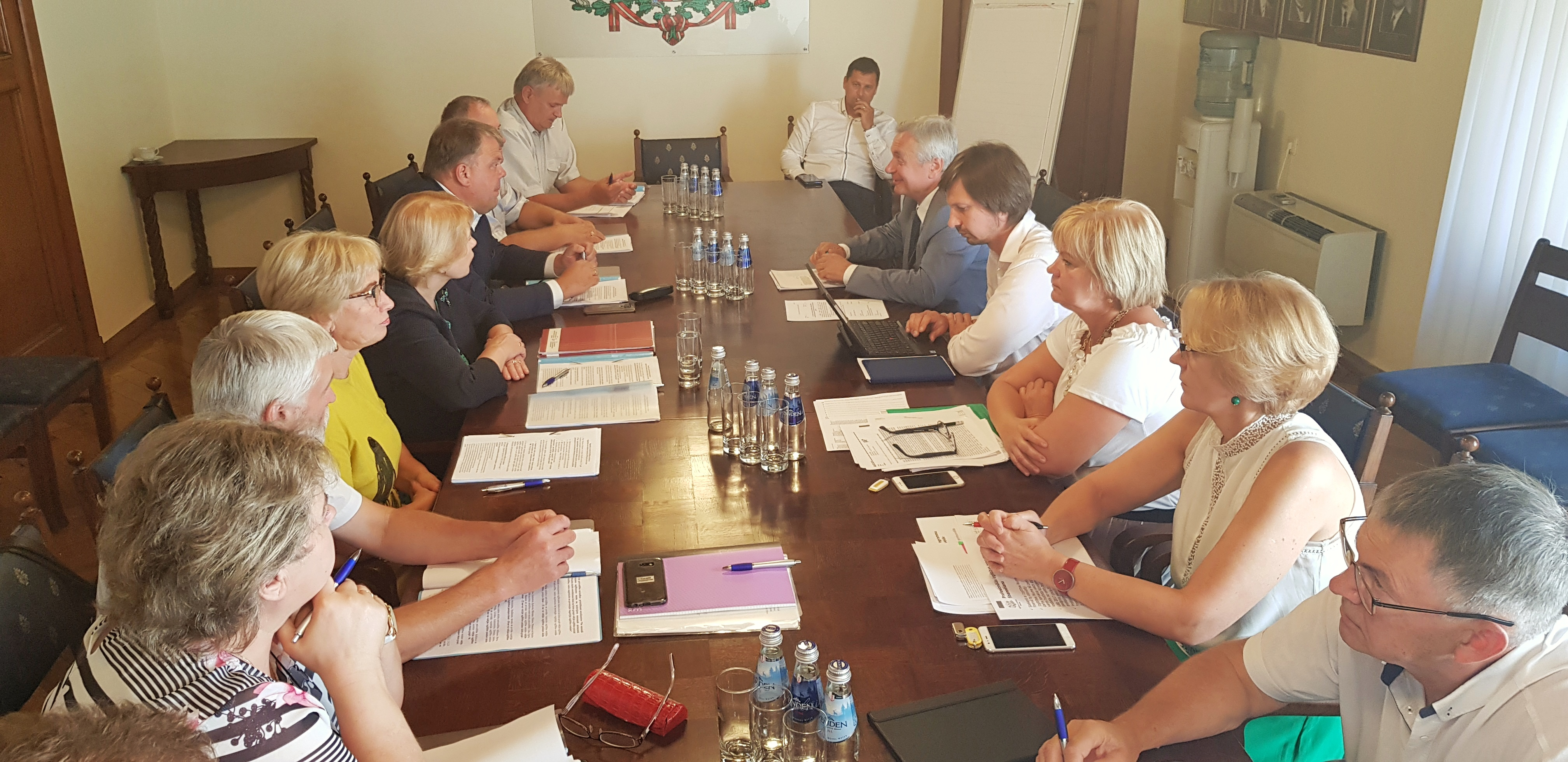 Annual negotiations between LALRG and the Ministry of Education and Science