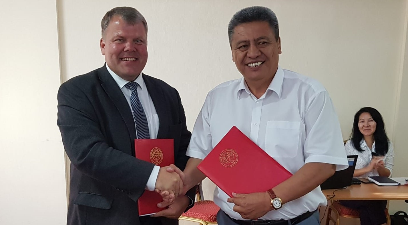 LALRG signed the cooperation agreement with the Association of Local Government of Kyrgyzstan
