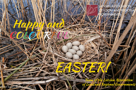 The team of the LALRG wish you happy and colourful Easter!
