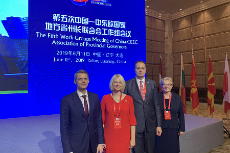 Local governments of Latvia are represented in China