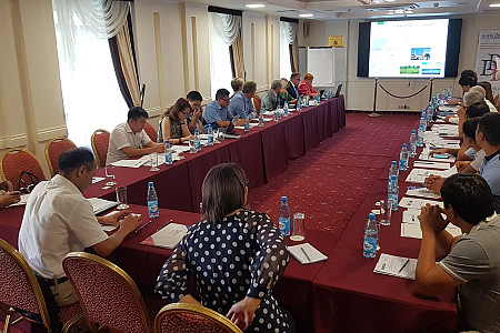 Latvian experts visit Kyrgyzstan and shares experience in the framework of the project
