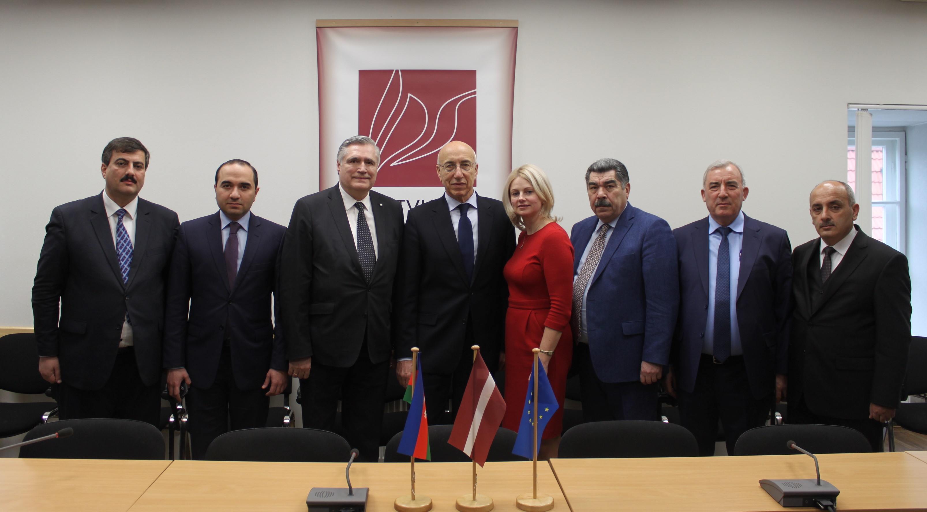 Delegation of National Parliament and local governments of Azerbaijan visits Latvia