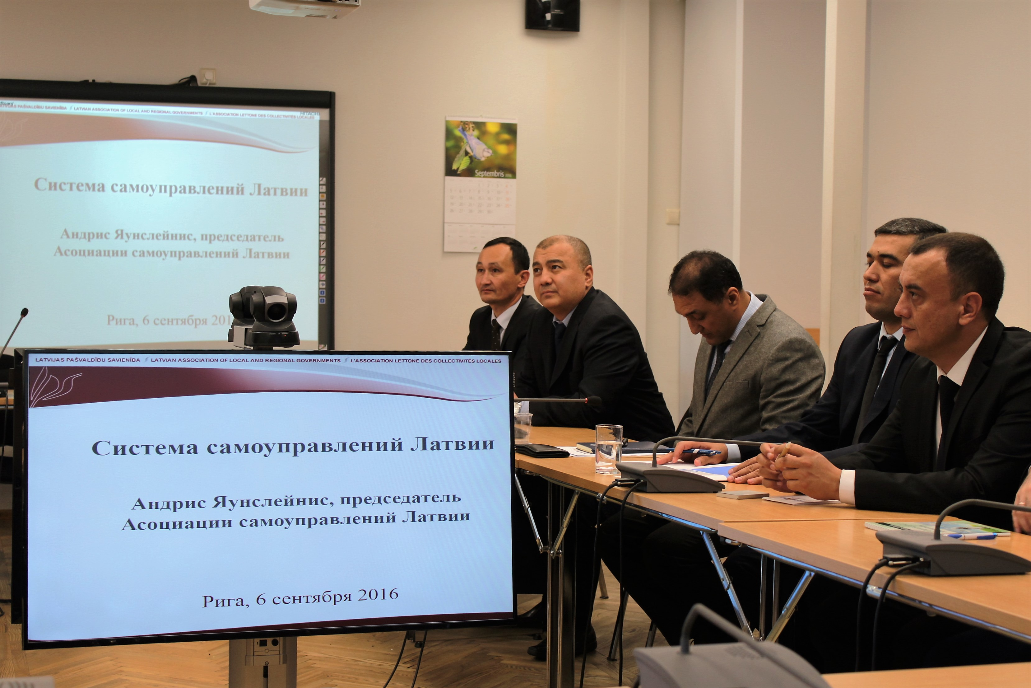 Uzbek delegation visits LALRG to exchange experiences